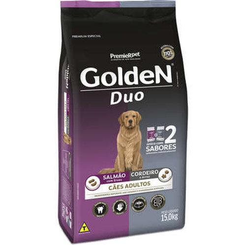 Ração Premier Golden DUO Cães Adultos Salmão com Ervas e Cordeiro e Arroz