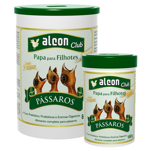 Alcon Club Papa Para Filhotes Pássaros