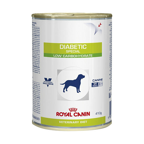 Ração Úmida Royal Canin Lata Veterinary Diabetic Special Low Carbohydrate Cães A