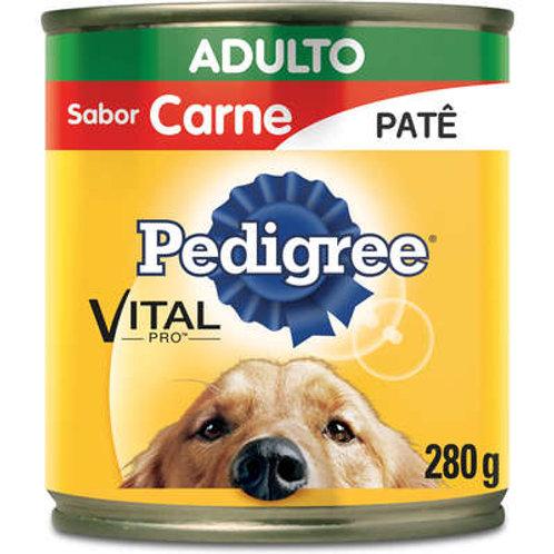 Lata Patê de Carne para Cães Adultos - 280 g