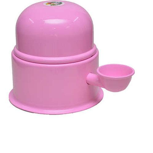 Bebedouro Vida Mansa Alumínio Rosa para Raças Pequenas 1,4L
