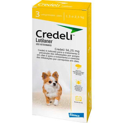 Antipulgas e Carrapatos Elanco Credeli para Cães 56,25 mg