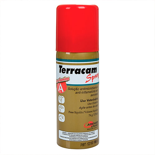"Terracam Spray - C/vitam.""a"" 125 Ml - Agener"