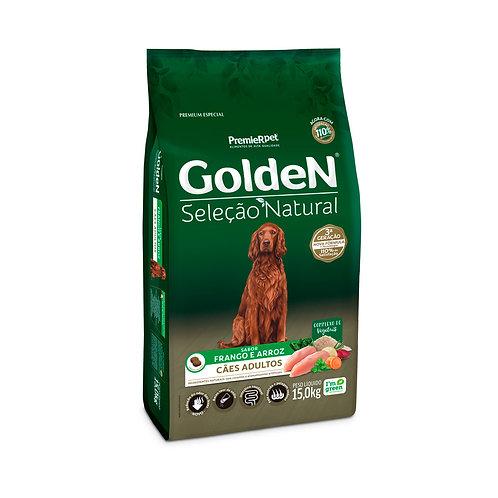 Golden Seleção Natural para Cães Adultos Sabor Frango