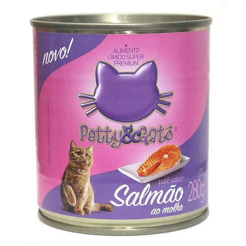 Lata Petty & Gato sabor peixe 280g