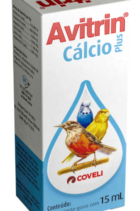 Avitrin Cálcio Coveli 15ml