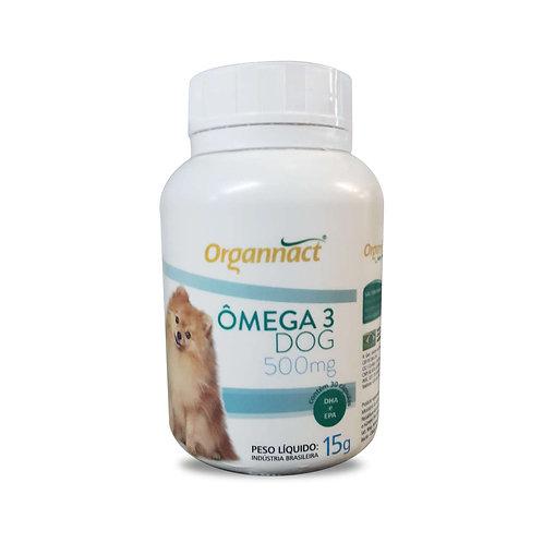 Suplemento Vitamínico Organnact Omega 3 Dog 500