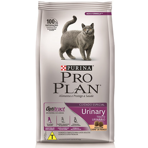 ProPlan Urinary para Gatos Adultos Sabor Frango e Arroz