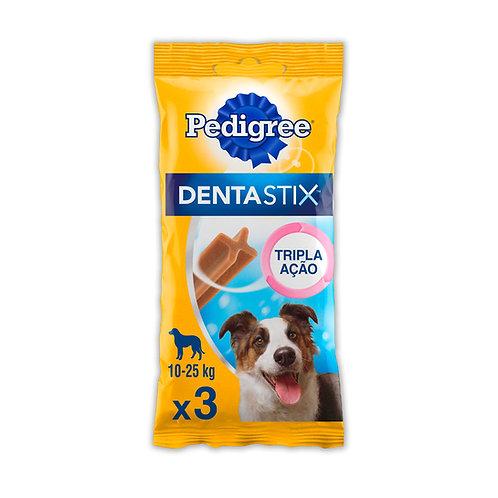 Petisco Pedigree Dentastix Cuidado Oral Para Cães Adultos Raças Médias 3 Unidade