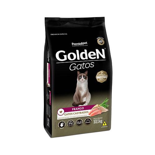 Ração Golden para Gatos Adultos Castrados Sabor Frango