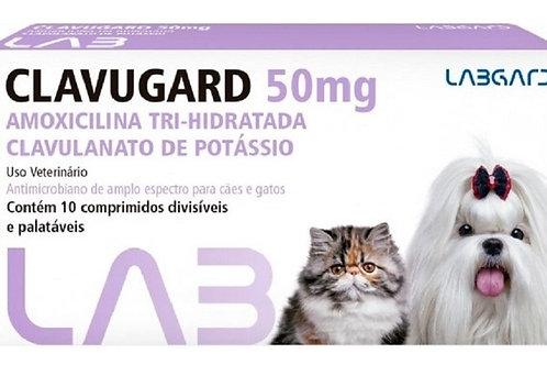 Antibiótico Clavugard 10 Comprimidos Labgard