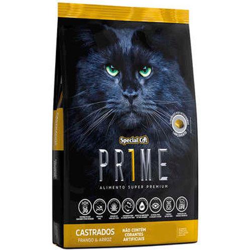 Ração Special Cat Prime Frango e Arroz para Gatos Adultos Castrados