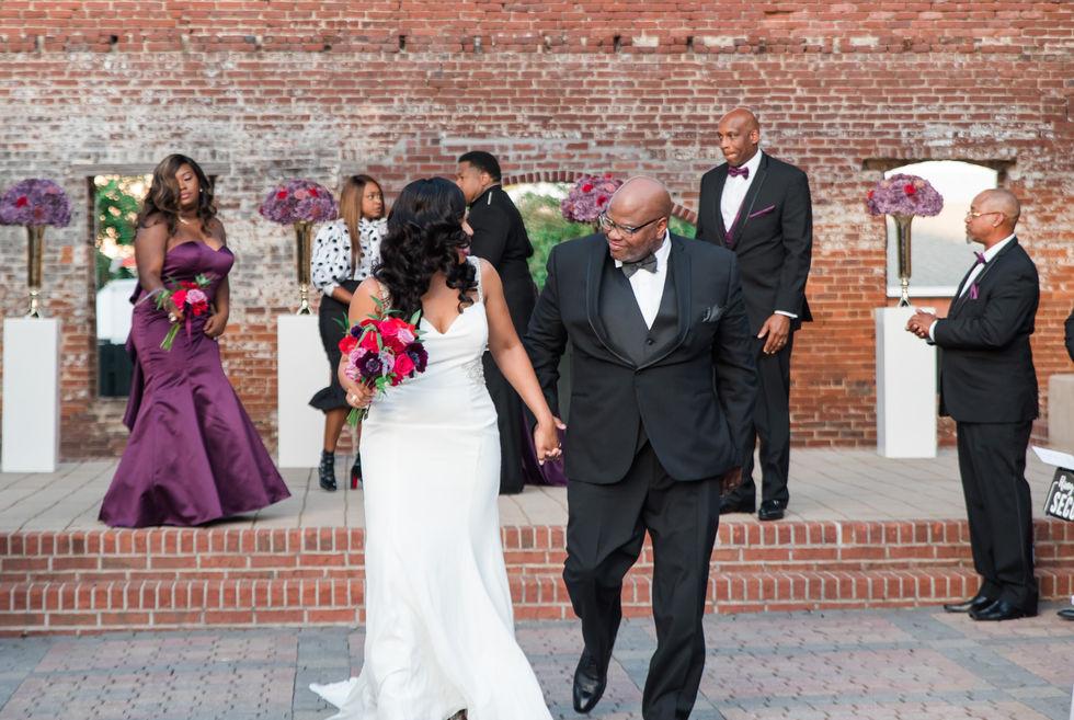 Kenya & Michael Sumlin Intimate Wedding