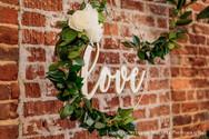 Intimate Wedding Decor