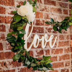 Intimate Wedding Decor
