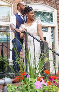 Demica & Jamar's Intimate Wedding
