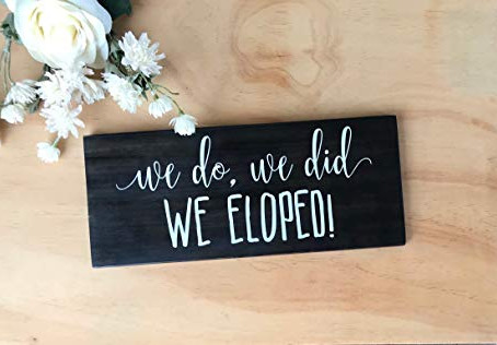 How to Announce Your Elopement