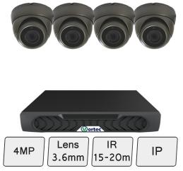 4 Camera Dome CCTV System