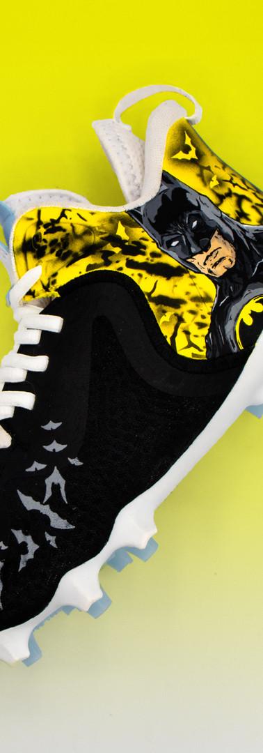 Batman Lacrosse Cleats