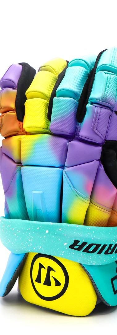 Easter Warrior Lacrosse Gloves