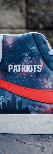 New England Patriots Nike Blazers
