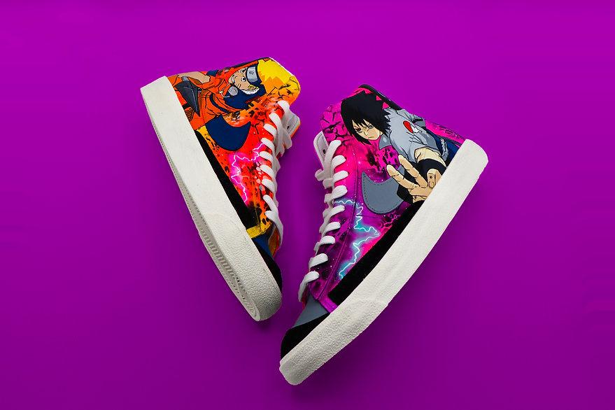 Naruto Nike Blazers
