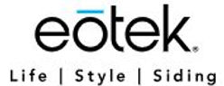 Logo for Eotek Siding, one of Markin Co's suppliers for siding.