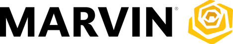 Marvin Windows logo, one of Markin Co's main suppliers of windows.