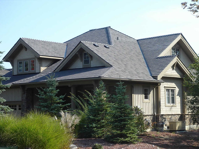 Markin Co's Enviroshake Roofing. Call us today for a free consultation on roofing as beautiful as this!