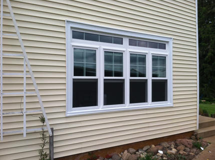 Double Hung With Transom