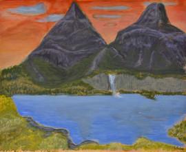 Montagne mystérieuse