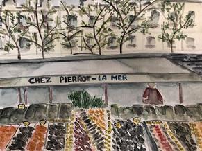Chez Pierrot La Mer #watercolor.jpg