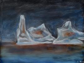 Burning iceberg (2019