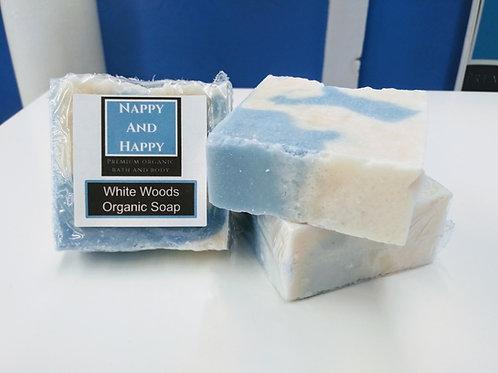 White Woods Soap w/ Mango Butter