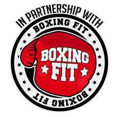 Boxing fit logo