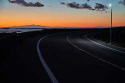 lurid sunset , 2021