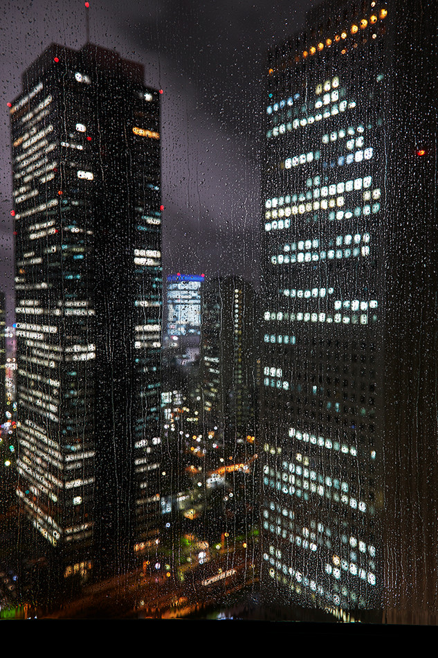 Shinjuku rainy night