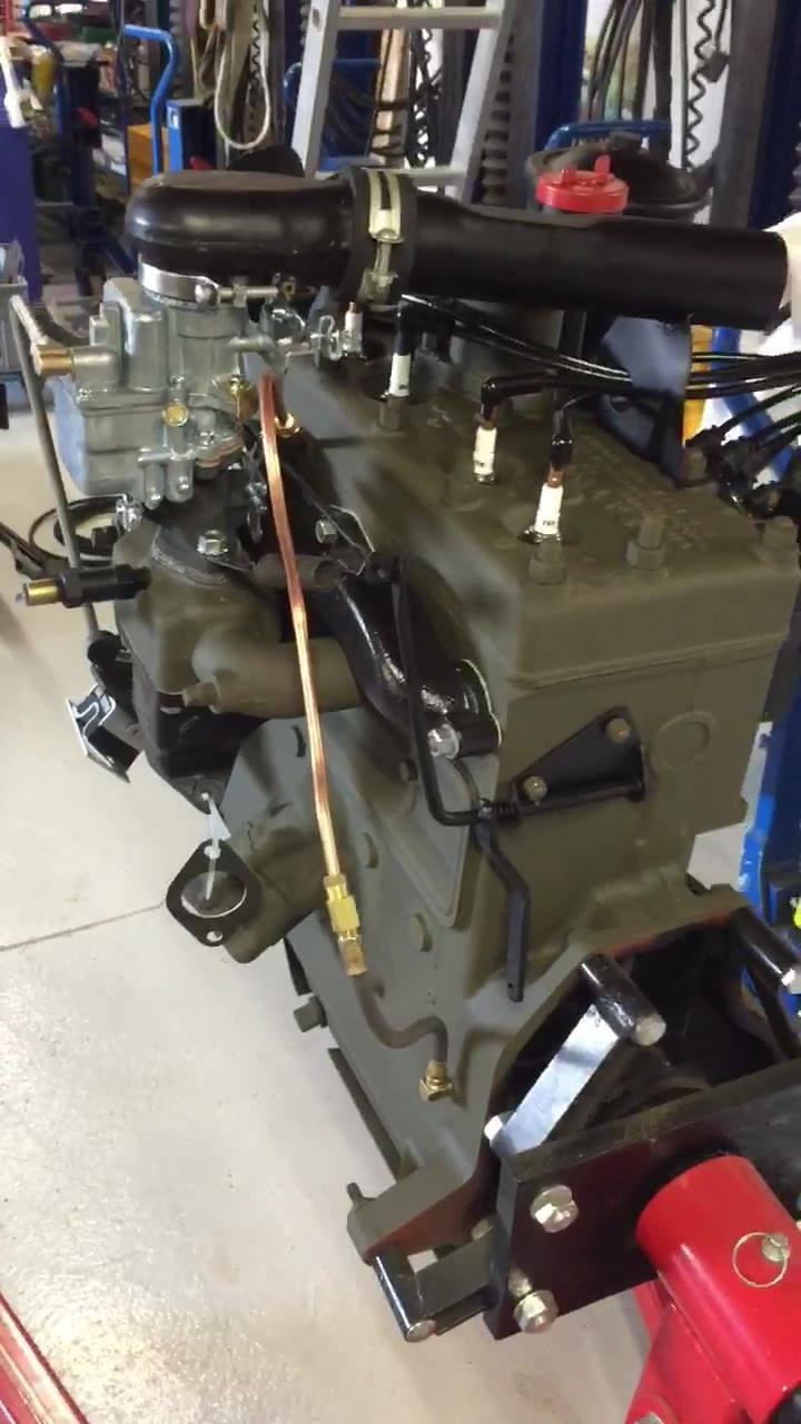 Motor bald einbaubereit!