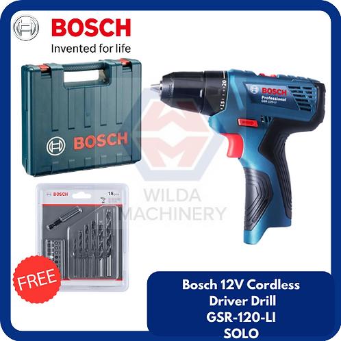 Bosch GSR120-LI Cordless Drill/Driver SOLO