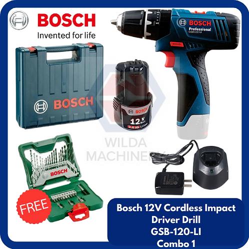 Bosch GSB120-LI Cordless Drill/Driver COMBO 1