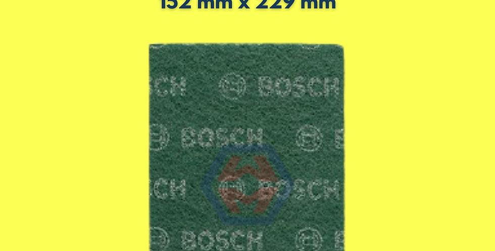 Bosch Fleece Pad (Green) - Expert For Finish 152mm x 229mm 2608608214 (1pc/3pc)