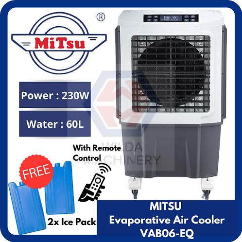 MITSU Evaporative Air Cooler | 230W 60L | VAB06-EQ