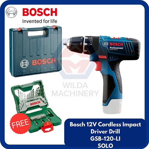 Bosch GSB120-LI Cordless Drill/Driver SOLO