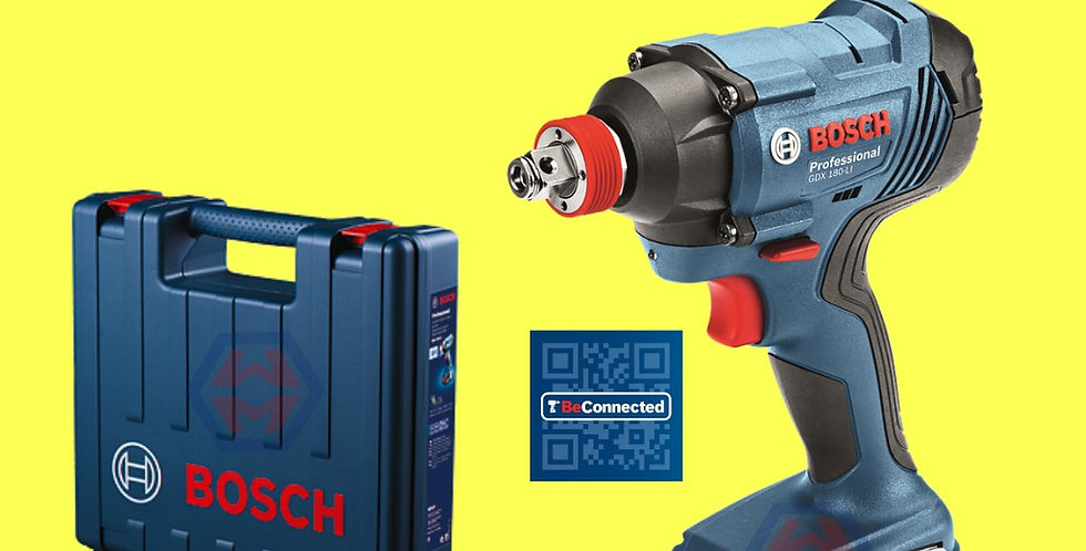 Bosch GDX-180-LI Cordless Impact Driver/Wrench F.O.C 10 PCS PH2 SCREW BIT   Wil