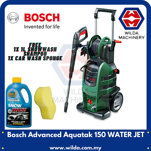 Bosch Advanced Aquatak 150 WATER JET | CAR WASH