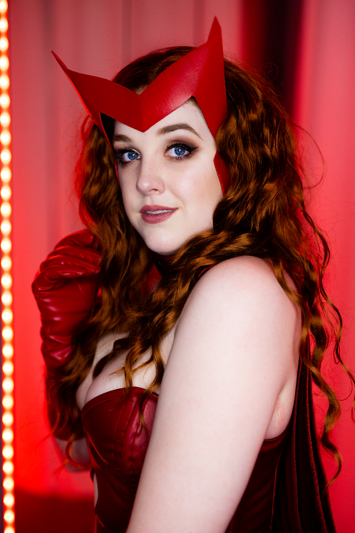 Scarlet Witch Headpiece Pattern