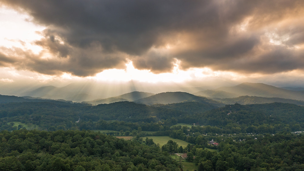 Overlooking Blairsville