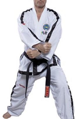Instructor Black Belt Dobok 4th Dan + (White)