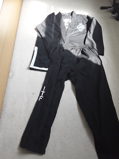 Student Black Belt Dobok (Black)