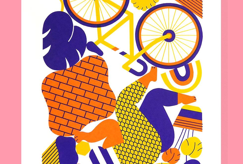 The Accident (yellow/orange)